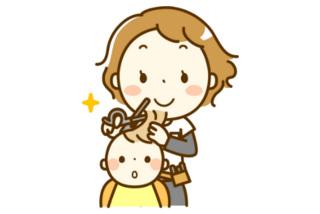 岡山市でヘアサロンをお探しならキッズカットも人気のさんぱつひろばへ
